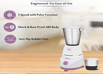 Inalsa Fusion 550-Watt Mixer Grinder with 2 Jar Rs.1260