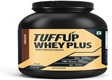 Tuff Up Whey Plus Protein - 1 kg at Rs. 1499