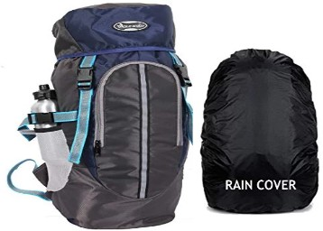POLE STAR Hike Grey Rucksack with RAIN Cover AT Rs.649