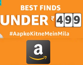 Amazon - Under 499 Sale on shoes, jewelry, Watches & More
