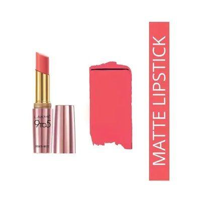 Lakme 9 To 5 Matte Lip Color & Get 10% Cashback