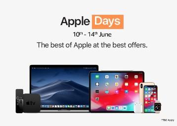 Apple Days (10th-14th Jun) at Amazon