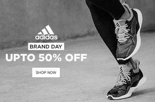 Upto 50% Off on Adidas Shoes & Sports Accessories