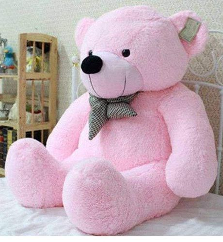 CLICK4DEAL Soft Teddy Bear (4ft, Pink) & Flat 76% Off