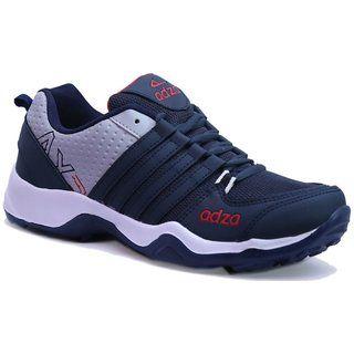 Adza Men's Navy Running Shoes & Get 10% Instant Discount