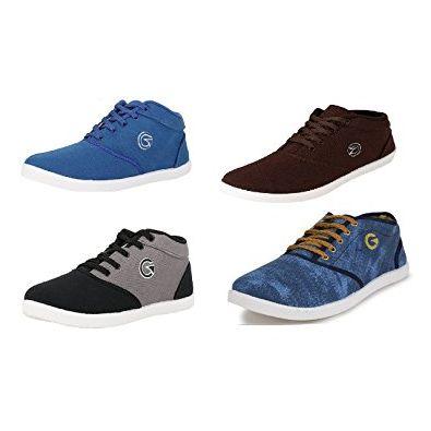Globalite Men's Sneakers Causal Shoes Combo - 7