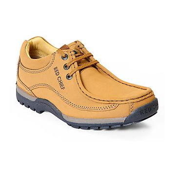 Red Chief Rust Men Outdoor Casual Leather Shoes