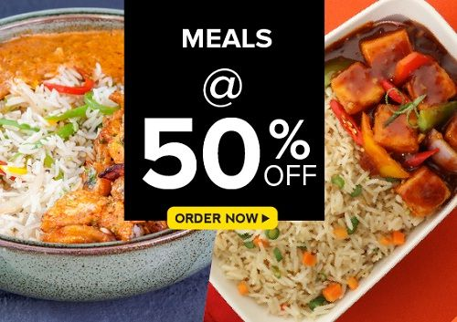 (Today Offer) Freshmenu Meals @ 50% Off
