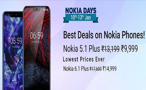 Flipkart Nokia Days: Best Deals Of Nokia Smartphones