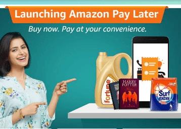 Amazon Pay later : Get Upto 600 Cashback on Shopping