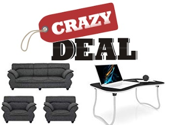 Crazy Deal On Furniture - Upto 50% off From just Rs. 624