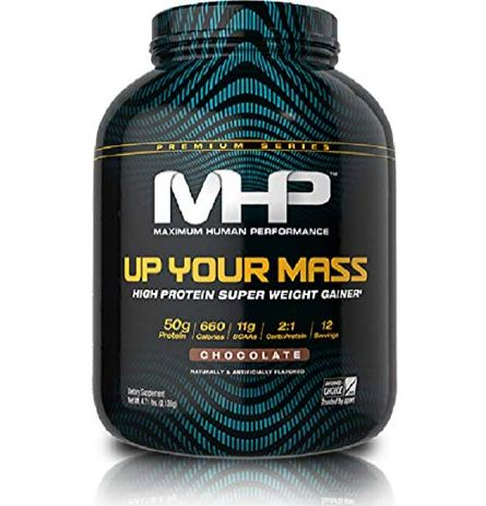 MHP Up Your Mass 1200 Weight Gainer: 2.81 kg @ Rs. 1689