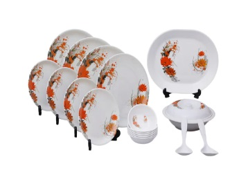 Palm's High Quality Dinner Set of 12 at Rs. 509