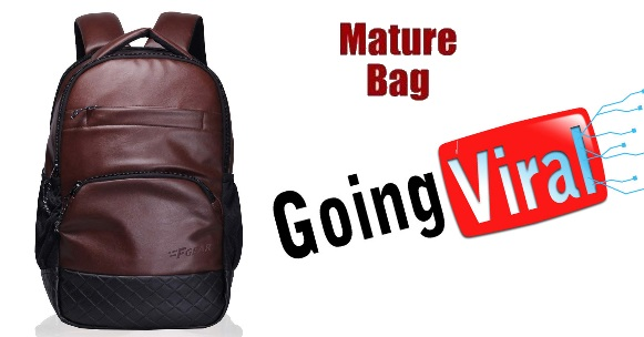 F Gear Brown 25 L Backpack 'Mature Bag' @ 70% off