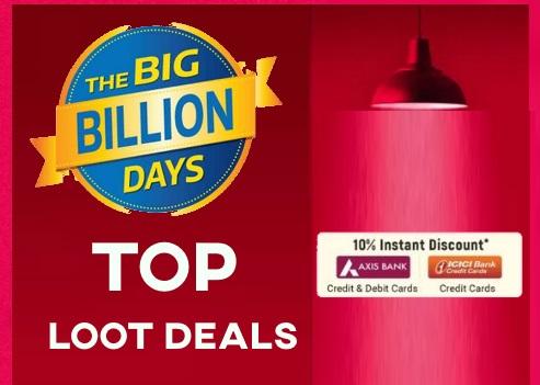 [End Now] Flipkart Top Loot Deals : Upto 85% off + Extra 10% off