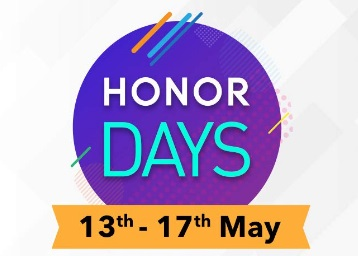 Honor Days : Save Up to Rs. 10,000 & Get Honor Band 4 at 20% off