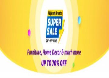 Flipkart brand super sale from (24 to 26 june)