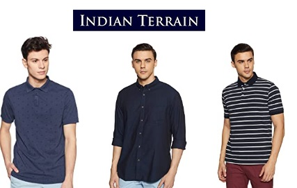 Indian Terrain Clothing Minimum 70% off from Rs. 263