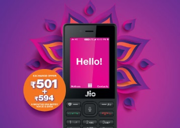 JIO Phone: Pay Rs. 1500 and get Rs. 1500 Back