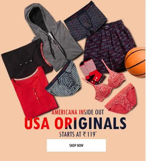 Jockey Official : Jockey USA Innerwear From Rs. 119