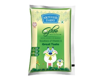 Pantry- Mother Dairy 500ml Ghee at Rs. 150 Only [Hydrabad Users]