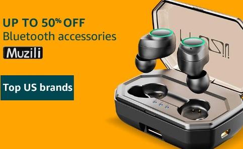 MUZILI Bluetooth Speakers - Upto 50% Off