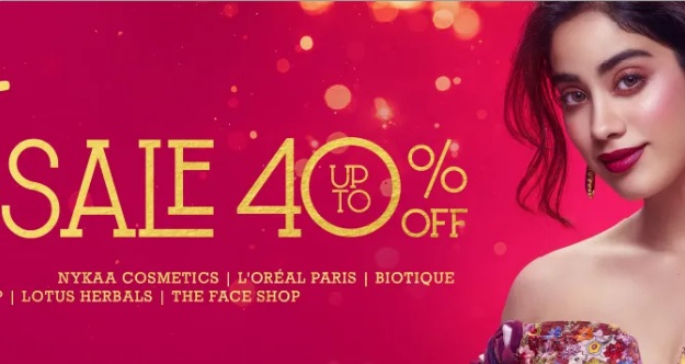 Nykaa Diwali Sale : Upto 40% Off On Top Brand Beauty Products