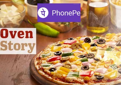 PhonePe : Order Rs.300 Food Just Rs.50 From Ovenstory.