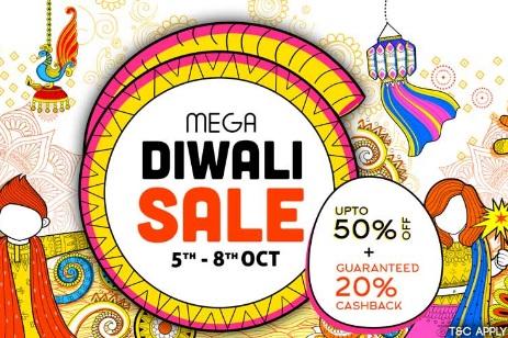 Diwali Sale - Pepperfry Upto 50% Off + Extra 20% Cashback