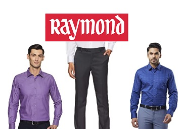 Raymond : Min. 40% -  80% off On Men Clothing From Rs. 159