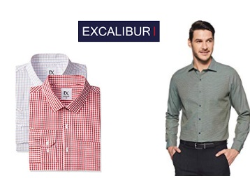 [Steal] Men Excalibur Shirts & Trousers From just Rs. 280