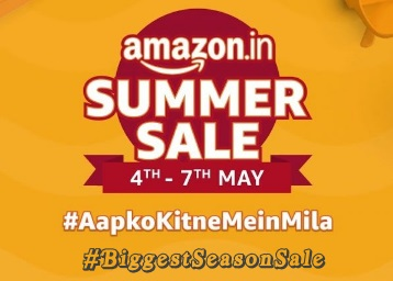 [Last Day]Amazon Summer Sale 2019 - Upto 90% off + Extra 10% Off