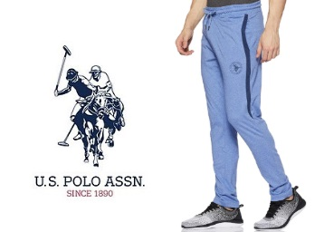 US Polo Association Men's Track Pants at Rs. 466 Only