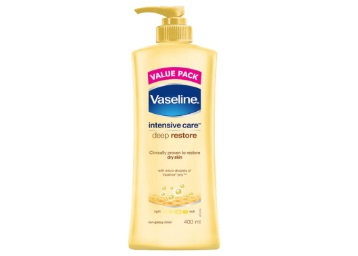 Vaseline Intensive Care Body Lotion, 400 ml @ Rs. 172
