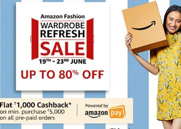 Wardrobe Refresh Sale : Upto 70% Off On Clothing