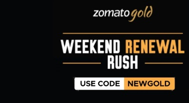 Zomato Gold Membership For 1 Year at Rs.700 Only